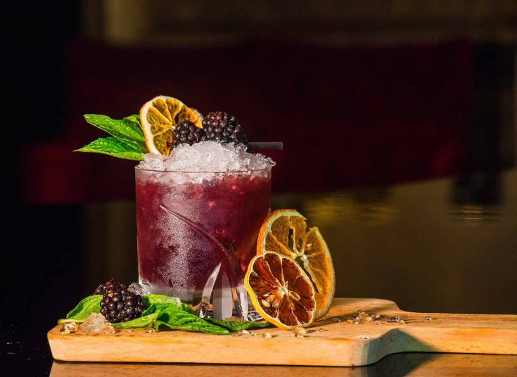 Tequila Blackberry Punch