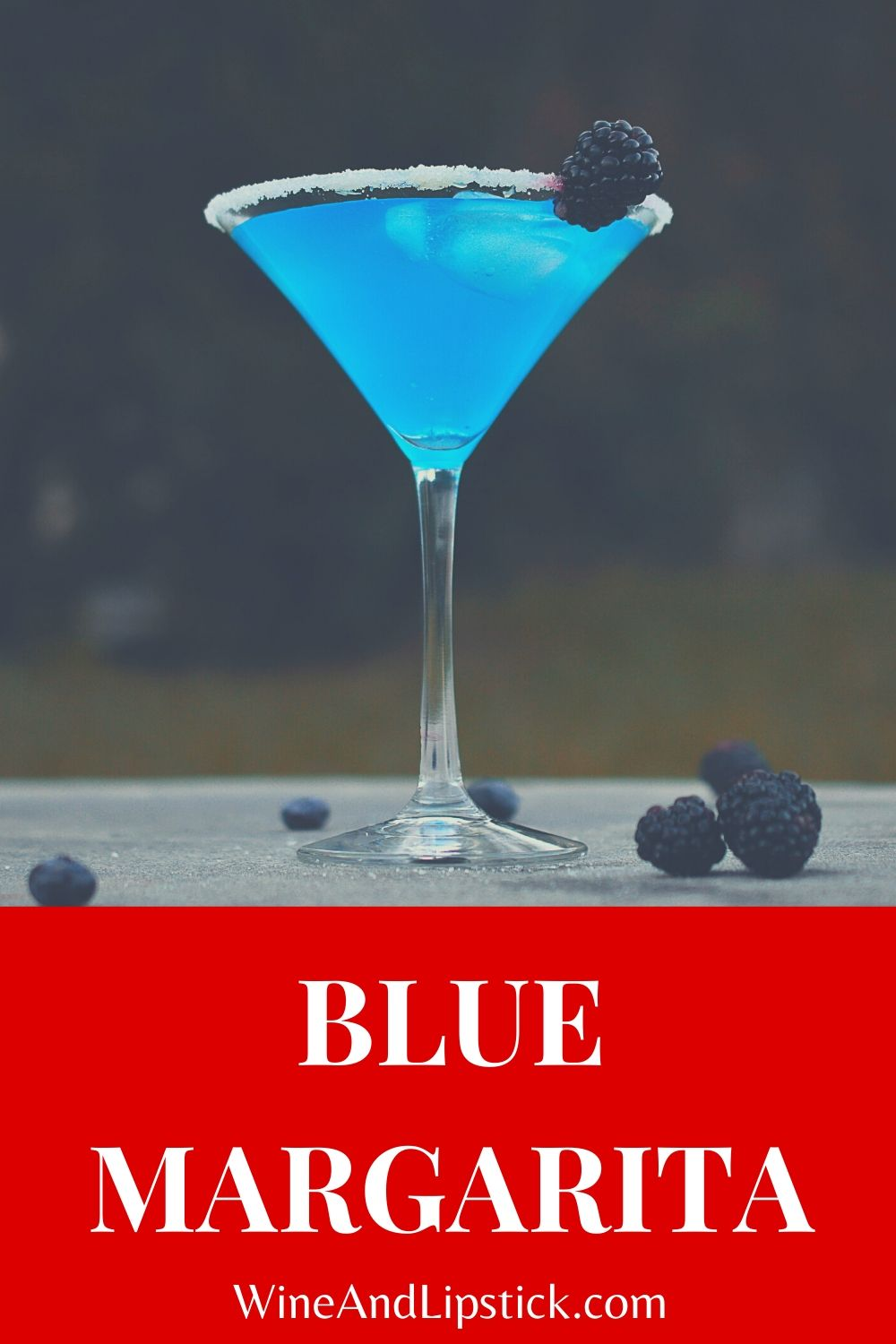 Blue Margarita {Simple Margarita Recipe}